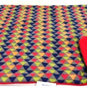 Buddy's Red Geometric Slumber Pad