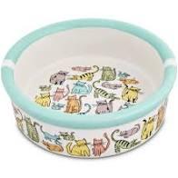 Signature HousewaresCat Town Cat Bowl
