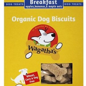 Wagatha's Organic Breakfast Dog Biscuits