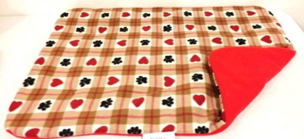 Buddy's Paws & Hearts Slumber Pad