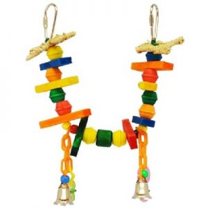 A&E Canary Swing Bird Toy