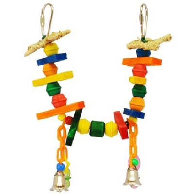 A&E Canary Swing Bird Toy
