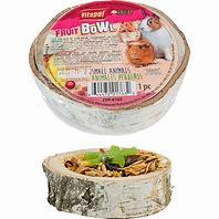 Vitapol Small Pet Wooden Bowl Fruit Treat