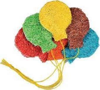 A & E Loofah Balloons