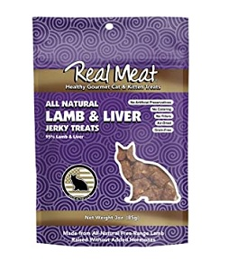 Real Meat Lamb & Liver Cat Snack